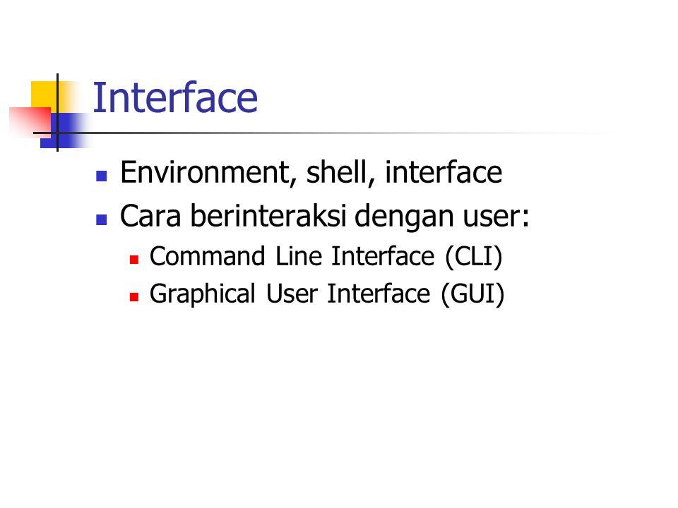 OS dan CPU Single tasking Multi tasking : banyak program bergantian Cooperative, event driven Preemptive, time driven, time sharing Multitasking bisa hanya satu processor.