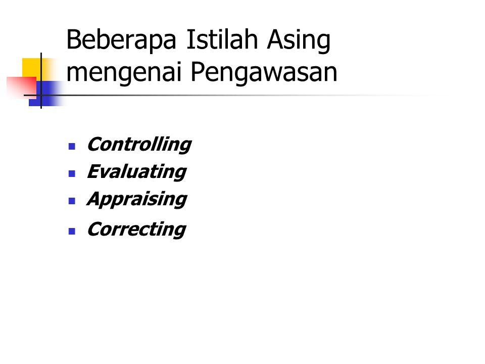 Perumusan Strategi Pengendalian Manajemen Pengendalian Tugas Goal, strategies & policies Implementasi strategi Efisien dan efektif