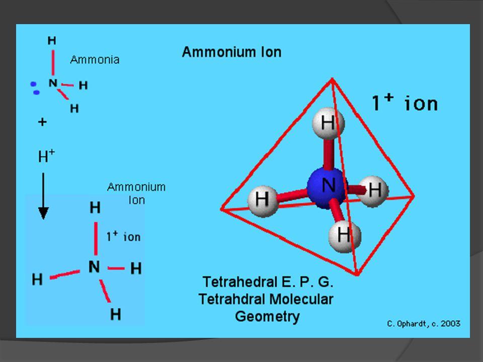 Amonia, pelarut bersifat basa  Mudah di dapat dan mudah penanganannya  Mempunyai ikatan H yang lebih lemah daripada H 2 O sehingga t.d dan t.l lebih