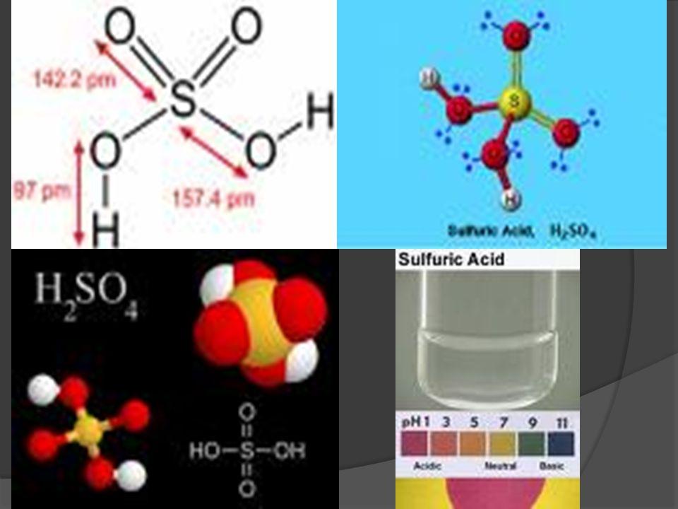 Asam sulfat, Pelarut bersifat asam  tetapan dielektrik ~110, jadi sangat baik sebagai pelarut senyawa ion, tetapi viskositasnya ~ 25x lebih besar dar