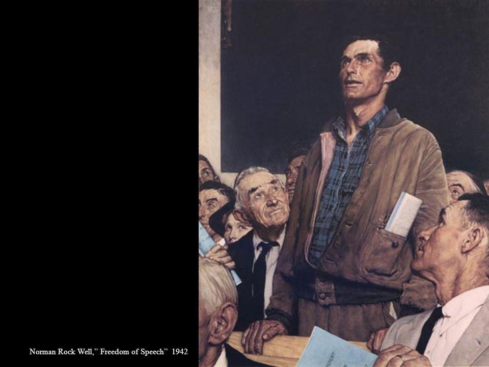 """Biografi Norman Rockwell 1894-1978 Hari ini lebih dari 20 tahun setelah beliau meninggal, pada tahun 1978, salah satu karya Rockwell yang bertema """"Fre"""