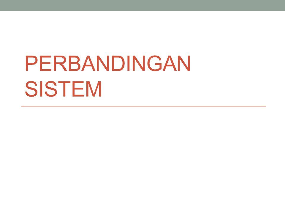 Perbandingan Sistem Pers (Siebert et.