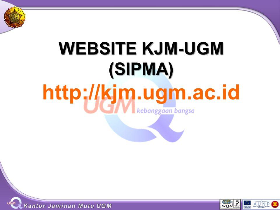 WEBSITE KJM-UGM (SIPMA) WEBSITE KJM-UGM (SIPMA) http://kjm.ugm.ac.id