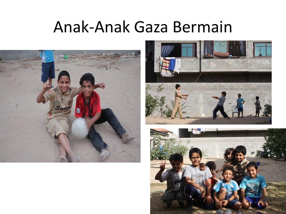Anak-Anak Gaza Bermain