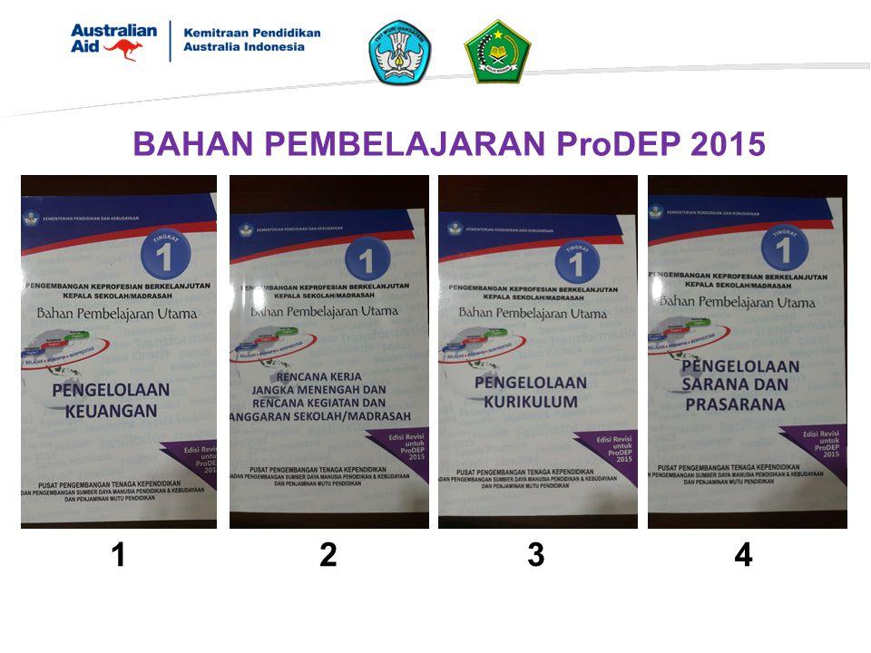 123 4 BAHAN PEMBELAJARAN ProDEP 2015