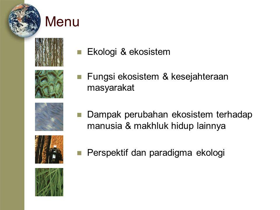 Apa itu Ekologi .