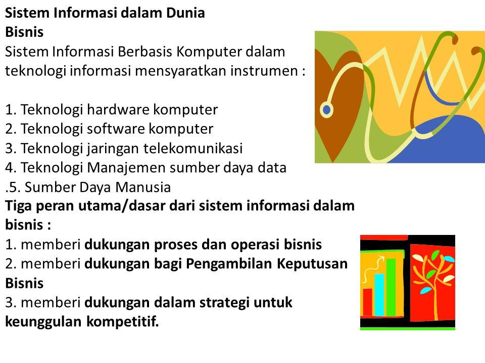 1.Sumber Daya Manusia Para Pakar Pemakai Akhir (end user/ Klien) 2.