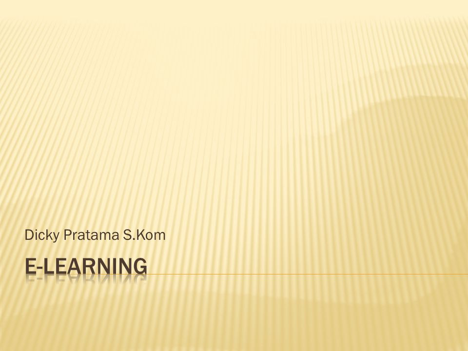 Dicky Pratama S.Kom
