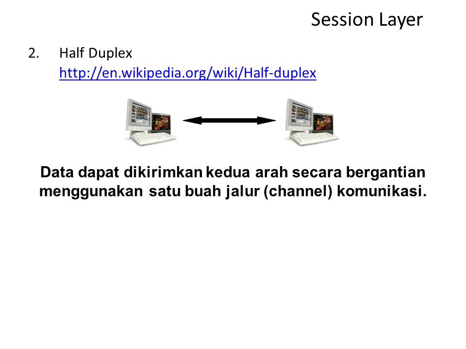 Komunikasi dapat berlangsung dalam tiga mode dialog : 1.Simplex, http://en.wikipedia.org/wiki/Simplex_communication http://en.wikipedia.org/wiki/Simpl