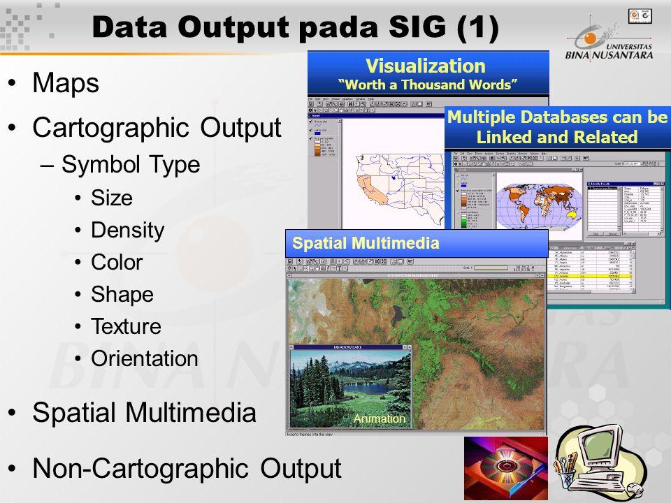 10 Edge matching & rubber sheeting Data Input pada SIG (7) Maps RADARSAT Problem Solving…..