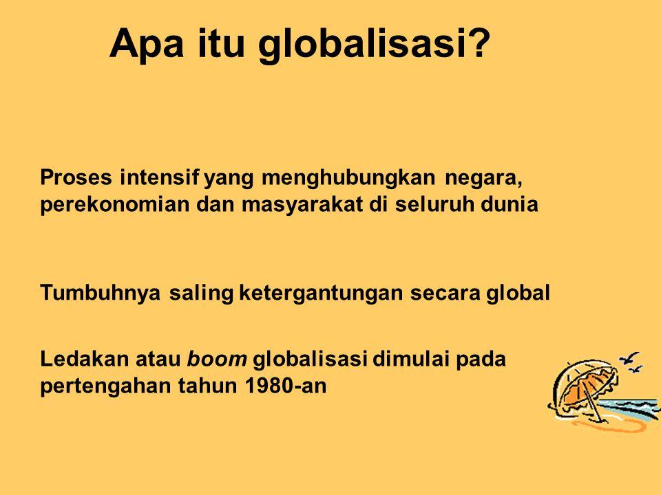 Apa itu globalisasi.