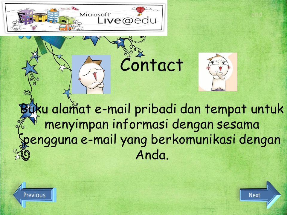 Dan banyak lagi Scape Fitur apa aja yang bisa didapatkan? Chat Skydrive Calendar Contact E-mail Office Word