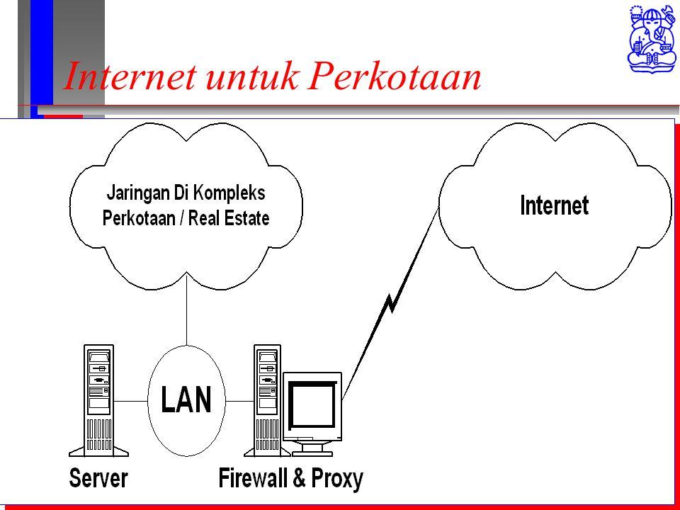 Computer Network Research Group ITB Internet untuk Perkotaan