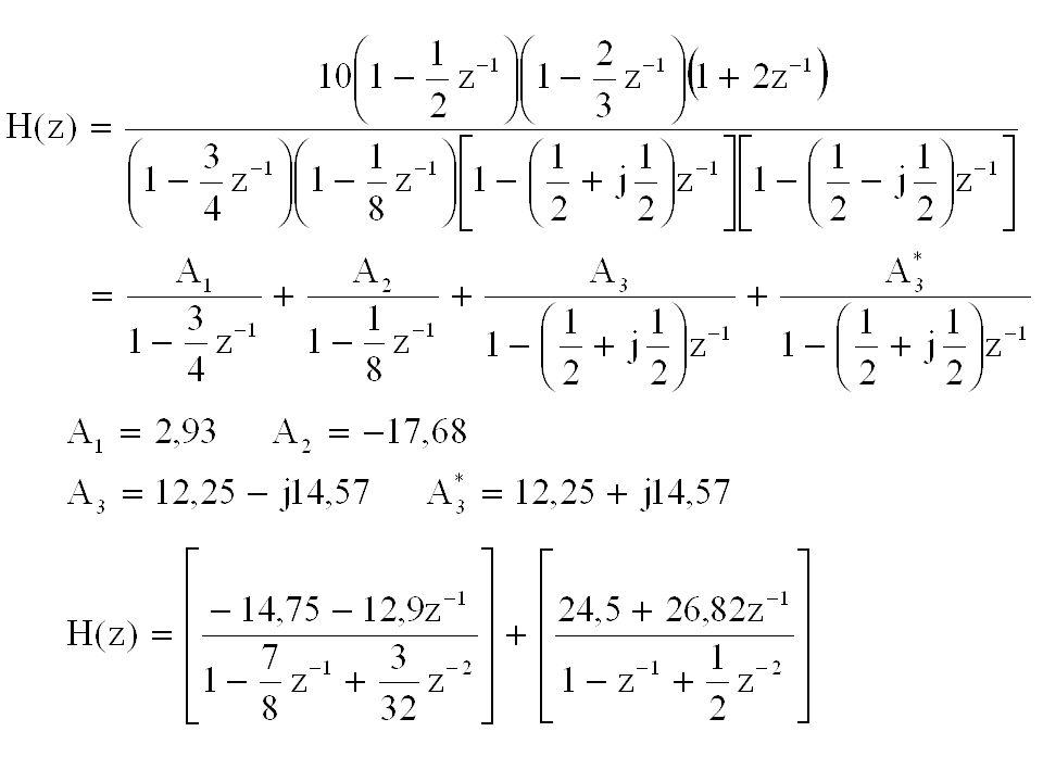 x(n) + z - 1 + + + + + + y(n) Struktur bentuk paralel