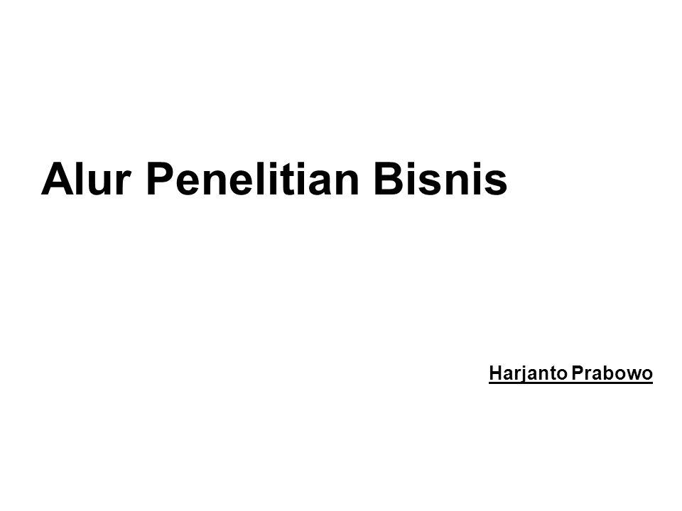 Alur Penelitian Bisnis Harjanto Prabowo