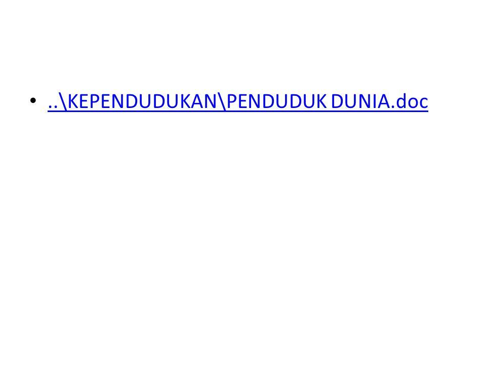 ..\KEPENDUDUKAN\PENDUDUK DUNIA.doc
