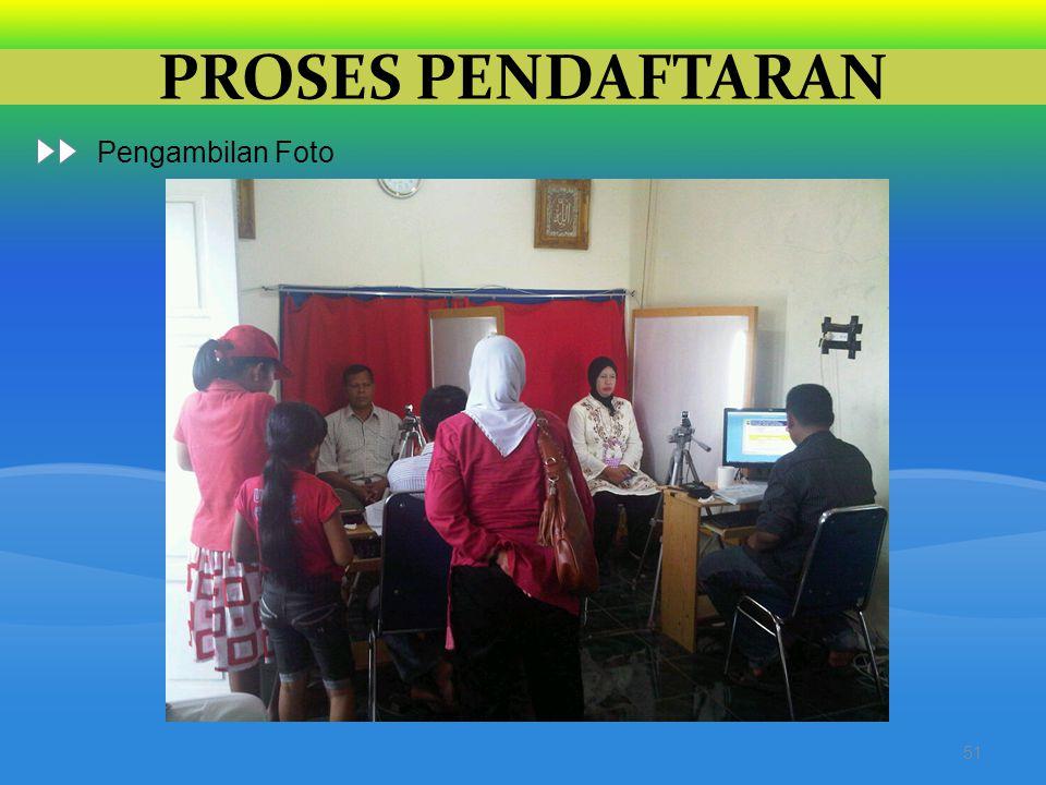 PROSES PENDAFTARAN 51 Pengambilan Foto