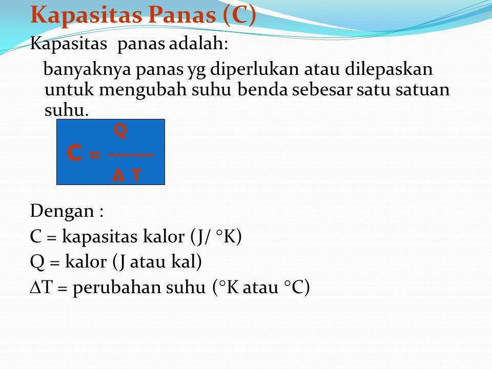 KALORIMETRI - mrpk pengukuran kuantitatif dr pertukaran panas - Alat ukur : Kalorimeter - Kegunaan kalorimeter: → menentukan panas jenis zat-zat