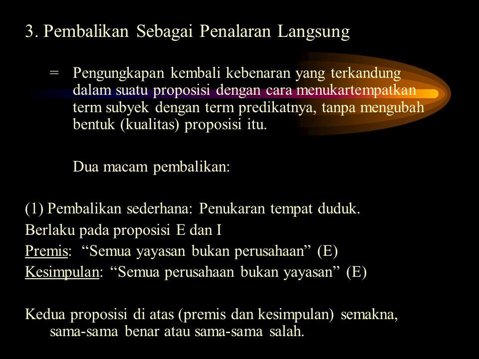Semua penduduk Jakarta bukan pendatang Sebagian penduduk Jakarta adalah pendatang Sebagian penduduk Jakarta bukan pendatang Bujur sangkar perlawanan S