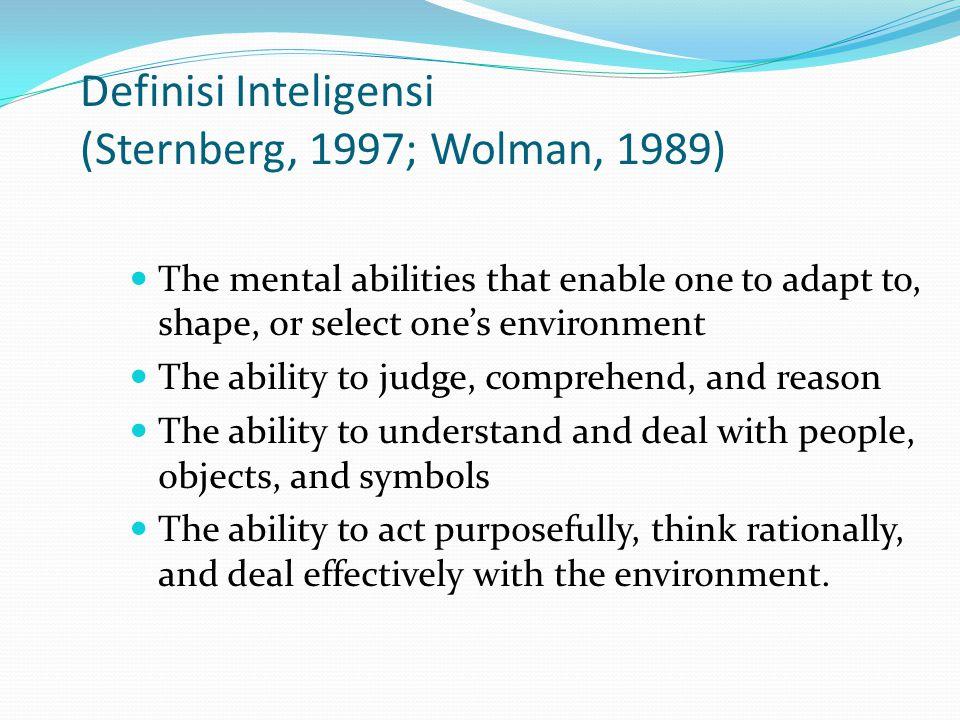 Bagaimana mengukur Inteligensi.