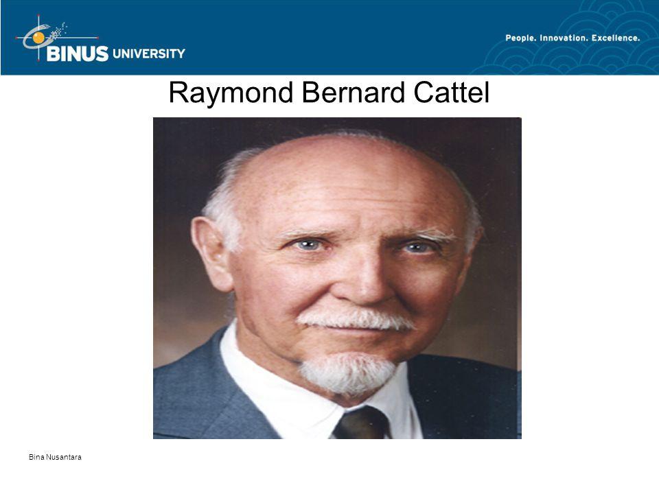 Bina Nusantara Raymond Bernard Cattel