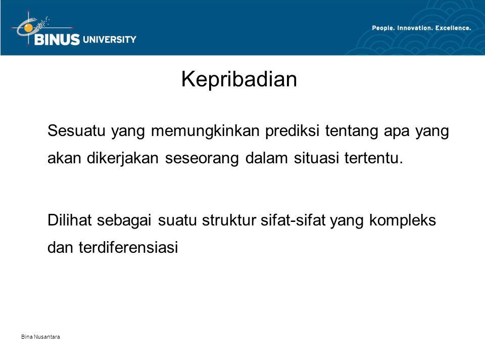 Bina Nusantara Learning Association Means-end learning Integration learning