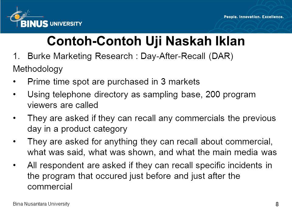Contoh-Contoh Uji Naskah Iklan (lanjutan 1) 2.