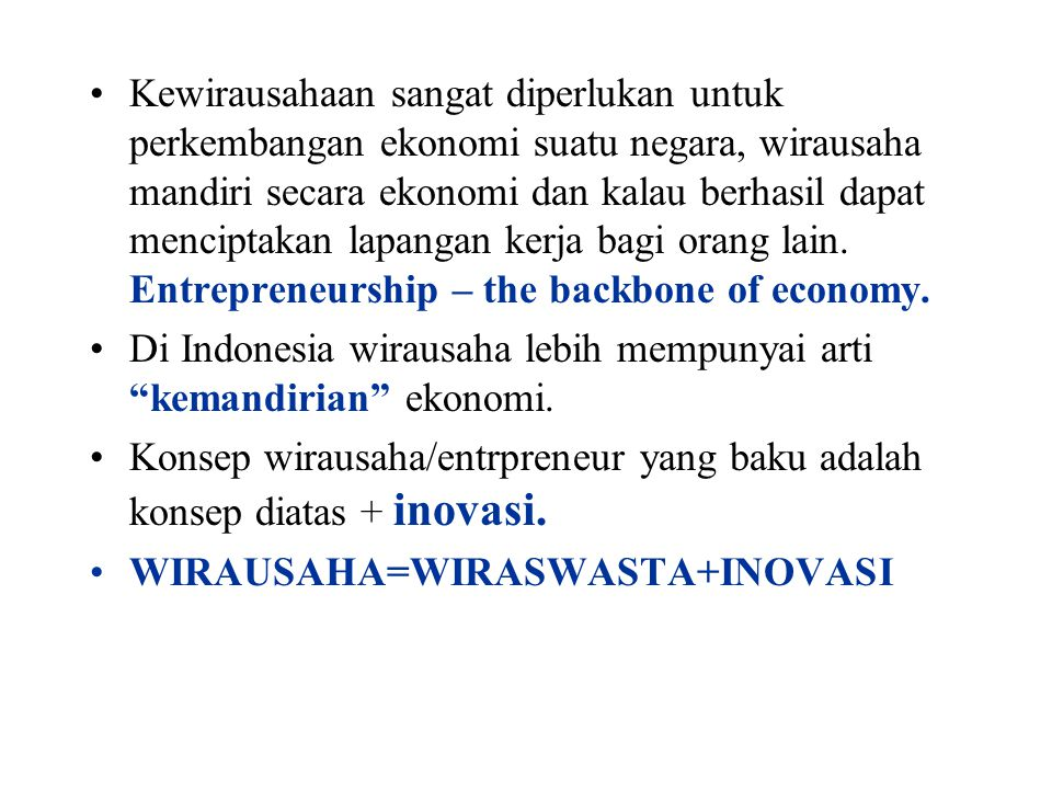 Model proses entrepreneur - Bygrave INNOVASI TRIGGERING EVENT IMPLEMENTASIGROWTH FAKTOR PRIBADI ???.