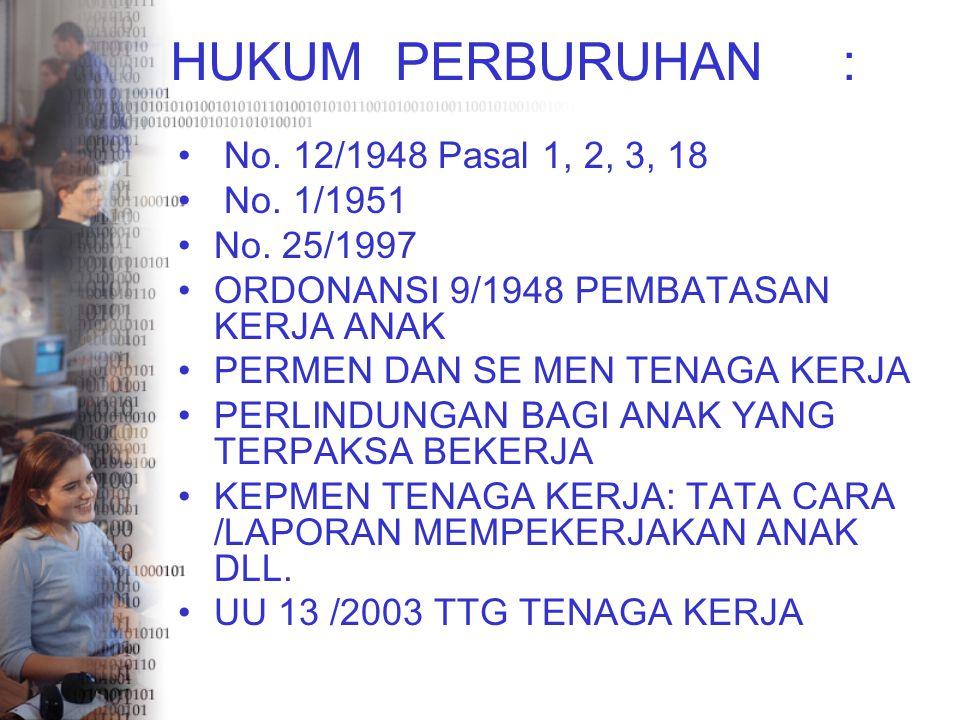H.PERKAWINAN : UU NO 1 TAHUN 1974 H. ISLAM Q.