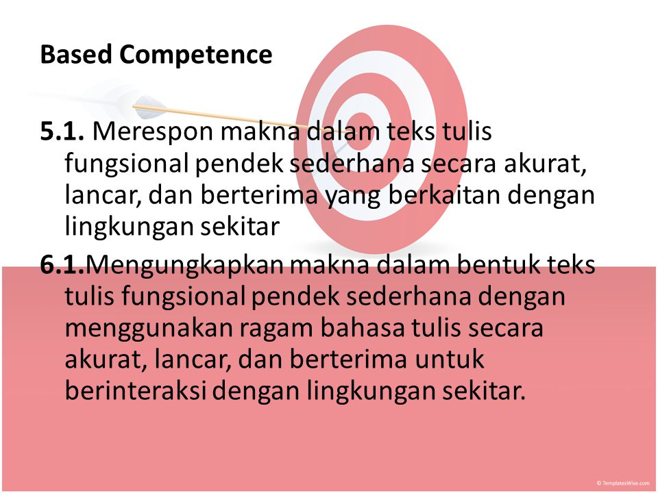 Based Competence 5.1.
