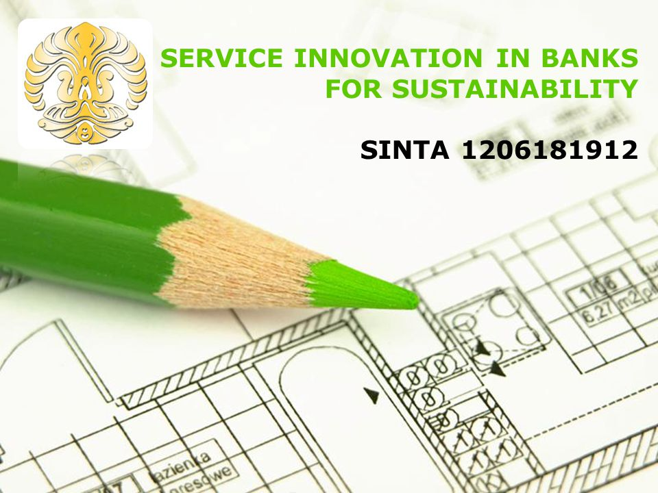 SERVICE INNOVATION IN BANKS FOR SUSTAINABILITY SINTA 1206181912