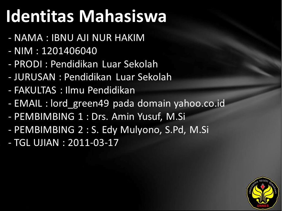 Judul Profil Pendidikan Keluarga Ala Pemulung (Kasus di Dusun Ngentak Kelurahan Kutowinangun Kecamatan Tingkir Kota Salatiga)