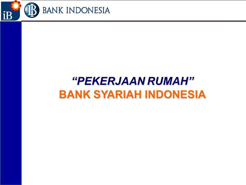 """""""PEKERJAAN RUMAH"""" BANK SYARIAH INDONESIA 15"""