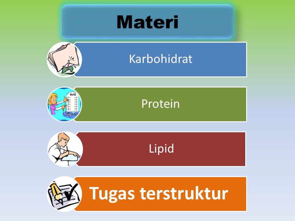 Materi Karbohidrat Protein Lipid Tugas terstruktur
