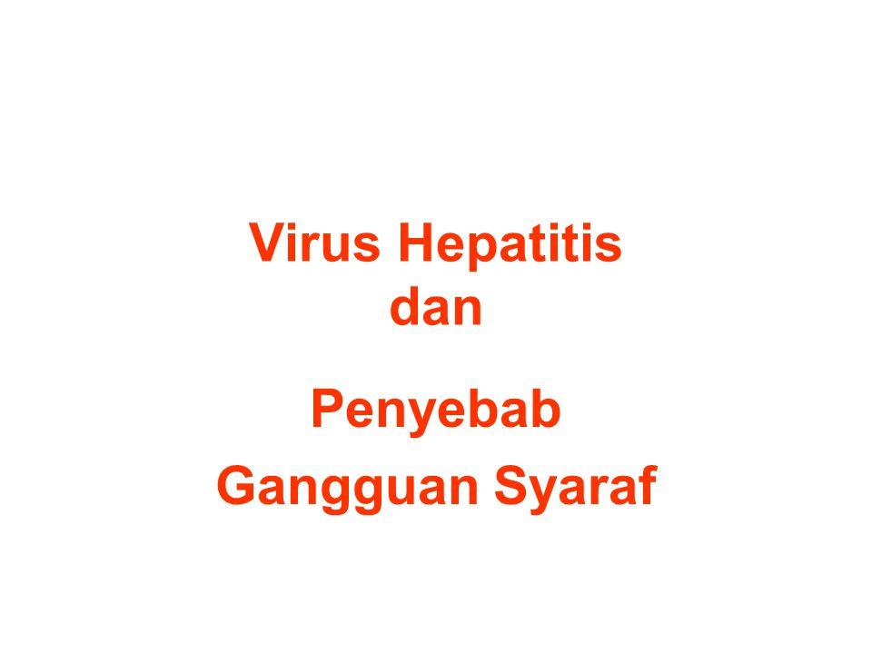Virus Hepatitis dan Penyebab Gangguan Syaraf