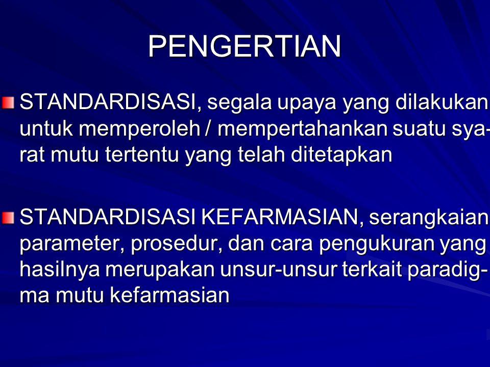 KENDALA MUTU DALAM STANDARDISASI SIMPLISIA 1.