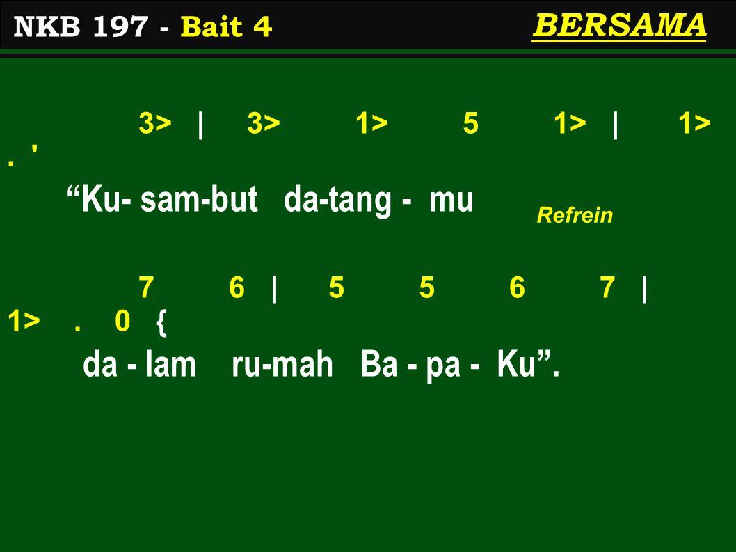 3> | 3> 1> 5 1> | 1>. Ku- sam-but da-tang - mu 7 6 | 5 5 6 7 | 1>.
