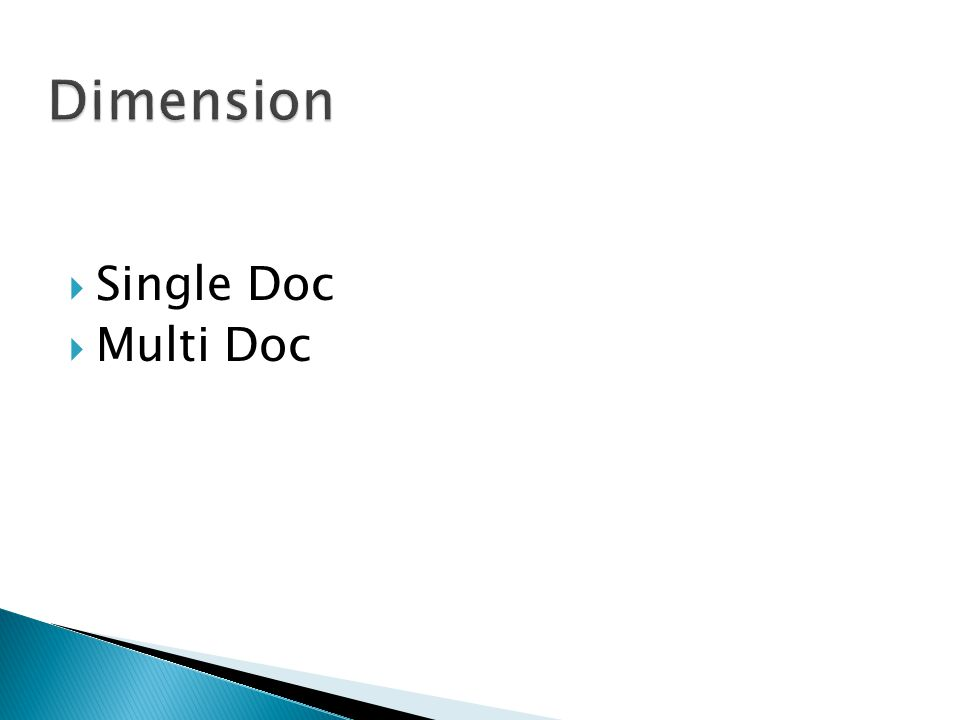  Single Doc  Multi Doc