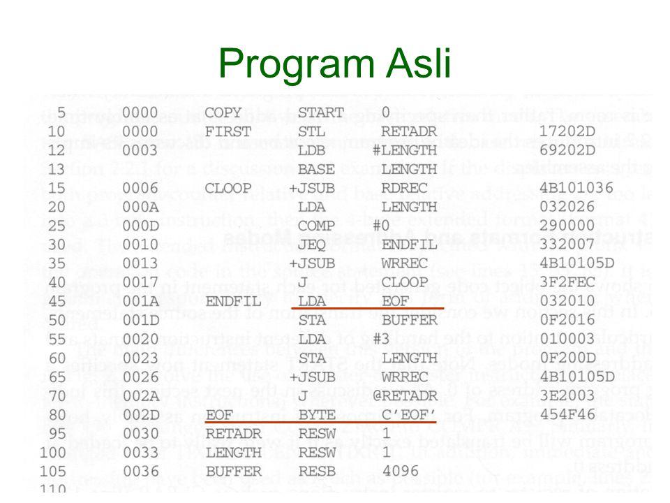 Program Asli