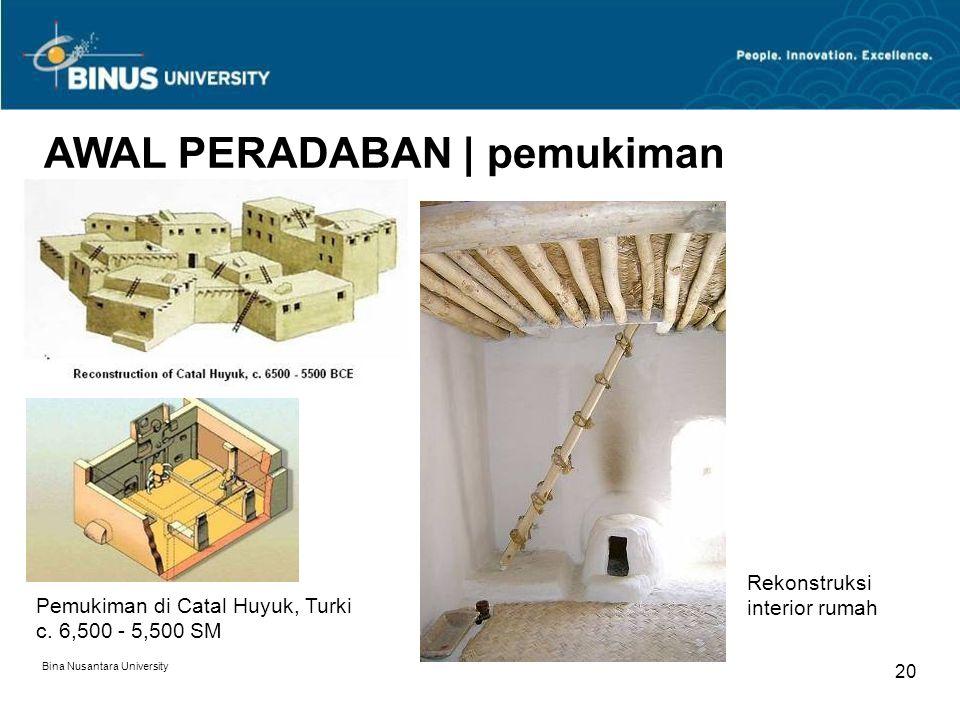 19 AWAL PERADABAN | pemukiman Pemukiman di Machu Picchu, Peru | 1400M Sumber: national geographic
