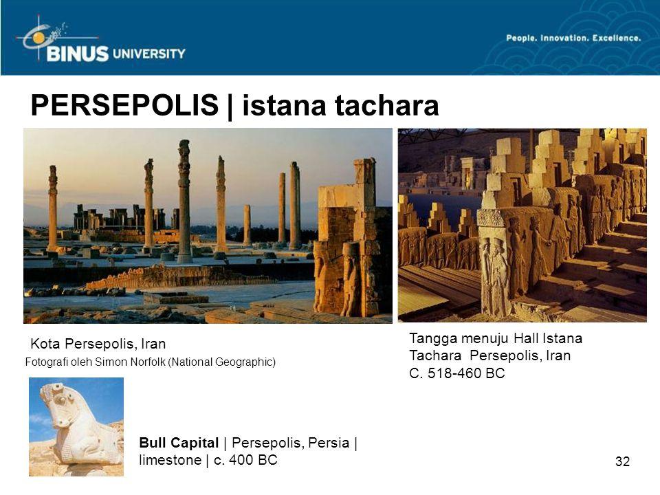 31 MESOPOTAMIA | arsitektur Gerbang Ishtar | Khorsabad, Iraq | c. 575SM