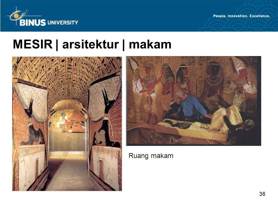 35 MESIR | arsitektur | makam Bagian dalam piramid http://www.ancientegypt.co.uk