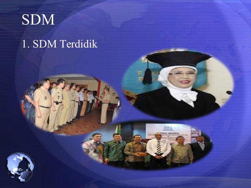 SDM 1. SDM Terdidik