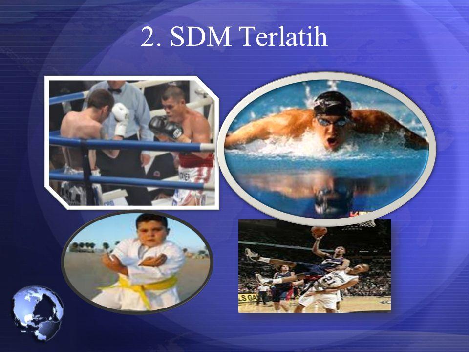 2. SDM Terlatih