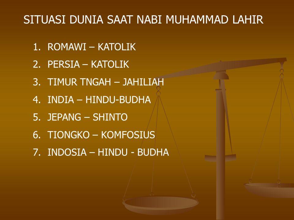 2.Menggali Peradaban Baru Pengaruh Islam Terhadap Peradaban Dunia 1.