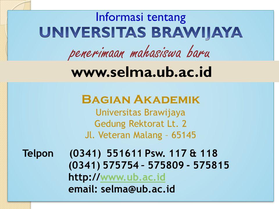 www.selma.ub.ac.id