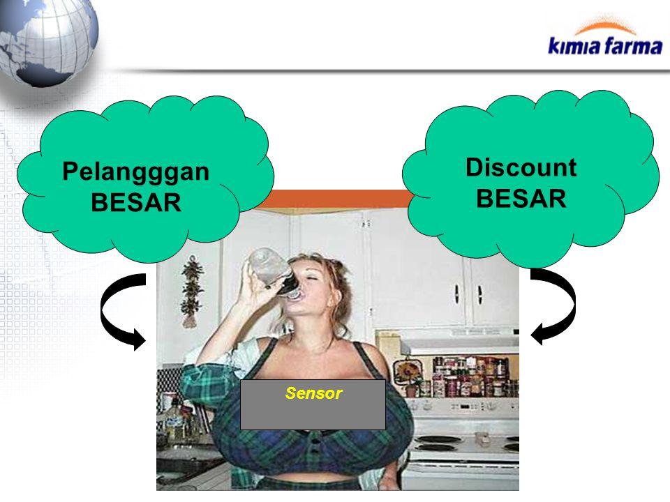 Pelangggan BESAR Discount BESAR Sensor