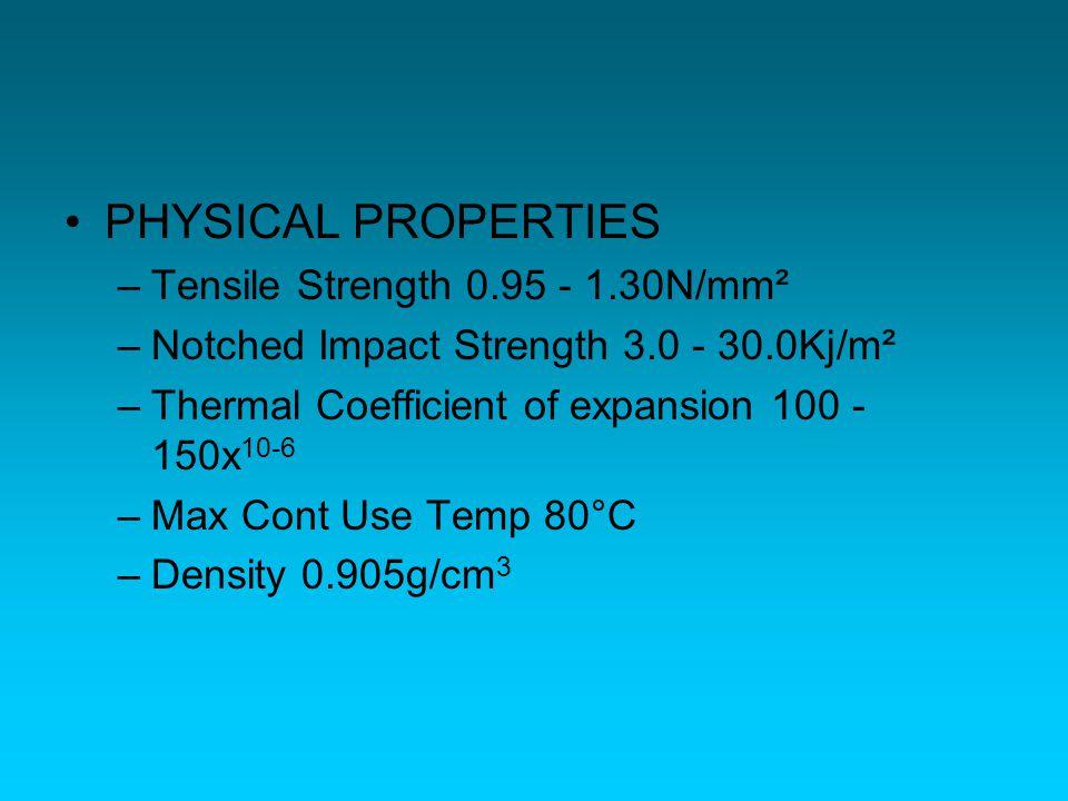 PVC –PolyVinyl Chloride –Sifat : Mudah bergabung dengan bermacam-macam bahan perekat.