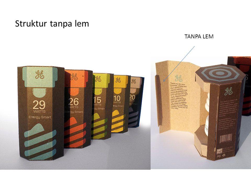 Struktur tanpa lem TANPA LEM