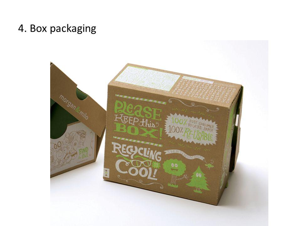 Box packaging